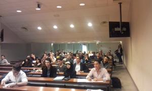 La 1ère conférence de l'Association - le 15 Octobre 2014