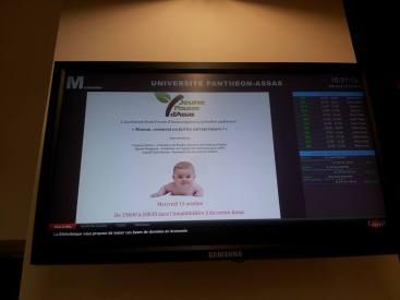Annonce de notre 1ère conférence sur les écrans du centre Assas